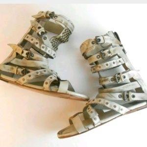 Freebird Sz 11 Biscayne Sandals